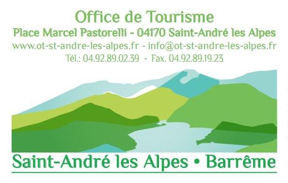 Office de Tourisme de Saint-André les Alpes