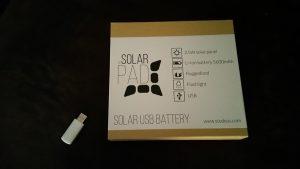 Batterie Solar Pad